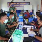 60 Orang Personel Lanal Dabo Disuntik Vaksin Covid-19 Tahap Dua