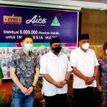 AICE ; Seremoni Distribusi Masker di Sulut, Manado